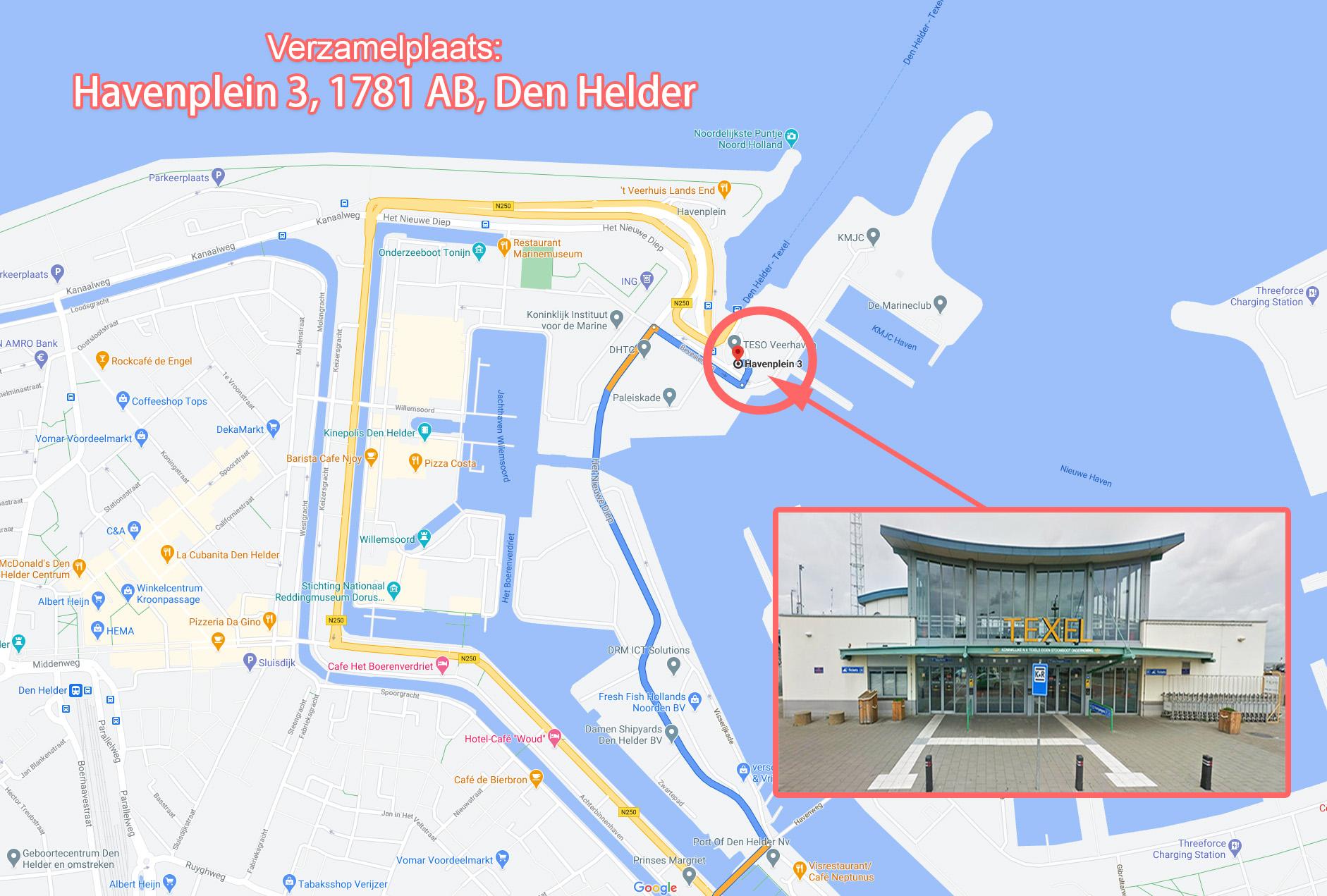 Den Helder - Veerboot Terminal
